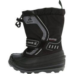 Buty zimowe damskie: Kamik SNOWCOAST4 Śniegowce black