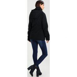 Bench ASYMMETRIC WAISTED JACKET Kurtka przejściowa black beauty. Czarne kurtki damskie Bench, s, z bawełny. W wyprzedaży za 449,25 zł.