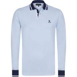 "Koszulki polo: Koszulka polo ""Handicap"" w kolorze błękitnym"