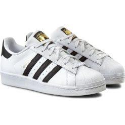 Buty sportowe damskie: Adidas Buty damskie Superstar J białe r. 36 2/3 (C77154)