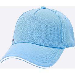 Tommy Hilfiger - Czapka. Niebieskie czapki z daszkiem męskie TOMMY HILFIGER. W wyprzedaży za 159,90 zł.