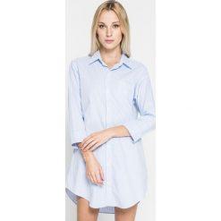Lauren Ralph Lauren - Koszula piżamowa. Szare koszule nocne i halki Lauren Ralph Lauren, l, z bawełny. W wyprzedaży za 229,90 zł.