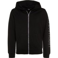 Bejsbolówki męskie: Calvin Klein Underwear HOODIE Bluza rozpinana black