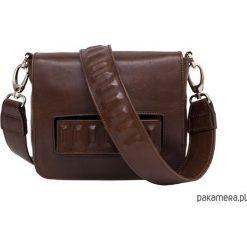 Torebki klasyczne damskie: Meliska – mała skórzana torebka na ramię