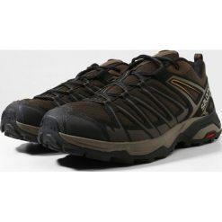 Salomon X ULTRA 3 PRIME Obuwie hikingowe wren/bungee cord/green sulphur. Brązowe buty skate męskie Salomon, z gumy, outdoorowe. Za 439,00 zł.