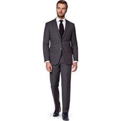 Garnitur Szary Tony. Szare garnitury marki LANCERTO, z bawełny. W wyprzedaży za 499,90 zł.