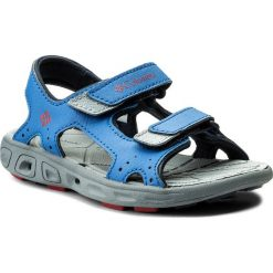 Sandały COLUMBIA - Childrens Techsun Vent BC4566 Stormy Blue/Mountain Red 426. Niebieskie sandały męskie skórzane marki Columbia. W wyprzedaży za 149,00 zł.