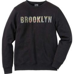 Bejsbolówki męskie: Bluza dresowa Slim Fit bonprix czarny