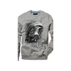 Bluza UNDERWORLD casual Maska. Szare bluzy męskie rozpinane marki Underworld, m, z nadrukiem, z bawełny. Za 119,99 zł.