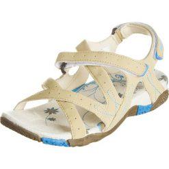 Rzymianki damskie: Sandały trekkingowe w kolorze beżowym