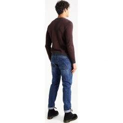 Swetry klasyczne męskie: Burton Menswear London HERRINGBONE CREW Sweter red