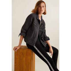 Mango - Jeansy push-up Kim. Czarne jeansy damskie rurki marki Mango, z bawełny. Za 119,90 zł.