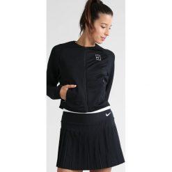 Nike Performance BASELINE  Kurtka sportowa black/white. Czarne kurtki sportowe damskie marki Nike Performance, m, z materiału. W wyprzedaży za 209,30 zł.