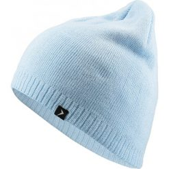 Czapka damska CAD600 - jasny niebieski - Outhorn. Niebieskie czapki zimowe damskie Outhorn, na jesień. Za 19,99 zł.
