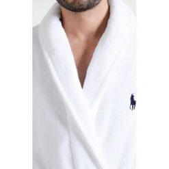 Polo Ralph Lauren SHAWL COLLAR ROBE Szlafrok white. Białe szlafroki męskie Polo Ralph Lauren, m, z bawełny. Za 549,00 zł.