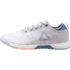 Reebok SPEED HER TR Obuwie treningowe white/grey/blue/pink. Białe buty sportowe damskie Reebok, z materiału. Za 419,00 zł.