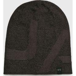 Under Armour - Czapka. Czarne czapki zimowe męskie Under Armour, z dzianiny. W wyprzedaży za 79,90 zł.