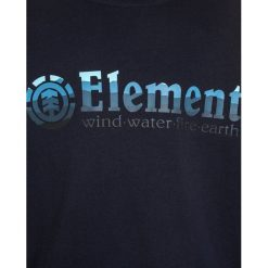 Element HORIZONTAL FILL  Bluza eclipse navy. Niebieskie bluzy chłopięce marki Element, z bawełny. W wyprzedaży za 170,10 zł.