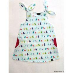 Sukienki niemowlęce: Bawełniana sukieneczka w ptaszki