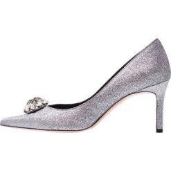 Oxitaly STEFY 415 Czółenka silver. Szare buty ślubne damskie Oxitaly, z materiału. Za 759,00 zł.