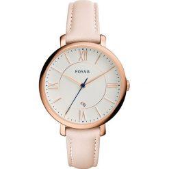 Fossil - Zegarek ES3988. Różowe zegarki damskie marki Fossil, szklane. Za 469,90 zł.