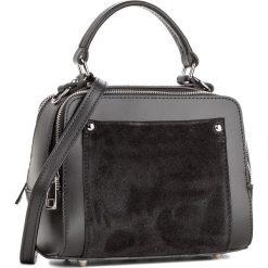 Torebka CREOLE - K10437 Czarny. Czarne kuferki damskie marki Creole, ze skóry. W wyprzedaży za 209,00 zł.