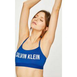 Calvin Klein Performance - Biustonosz sportowy. Szare biustonosze sportowe marki Calvin Klein Performance, z elastanu. Za 179,90 zł.