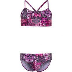 Buffalo BUSTIER Bikini aubergine. Fioletowe bikini marki bonprix, z nadrukiem. Za 129,00 zł.