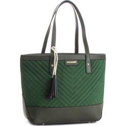 Torebka MONNARI - BAG9220-008 Green. Szare torebki klasyczne damskie marki Monnari, z materiału, średnie. W wyprzedaży za 199,00 zł.