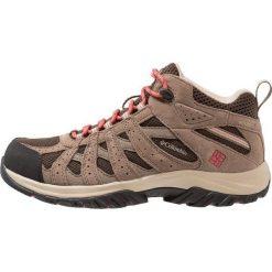 Columbia CANYON POINT MID WATERPROOF Obuwie hikingowe sunset red. Białe buty sportowe damskie marki Nike Performance, z materiału, na golfa. Za 399,00 zł.