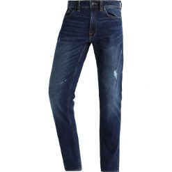 Jeansy męskie regular: Burton Menswear London WASHED Jeansy Straight Leg blue