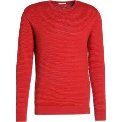 Swetry klasyczne męskie: Knowledge Cotton Apparel SAILOR Sweter red