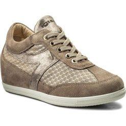 Sneakersy IGI&CO - 1160433 Visone. Brązowe sneakersy damskie IGI&CO, z materiału. W wyprzedaży za 289,00 zł.