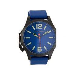 Zegarek OOZOO Steel OS407 Blue. Niebieskie, analogowe zegarki męskie Moderntime, ze stali. Za 369,00 zł.