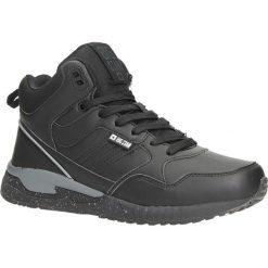 Czarne buty sportowe sneakersy ocieplane sznurowane Big Star BB274639. Czarne buty sportowe damskie marki BIG STAR. Za 178,99 zł.