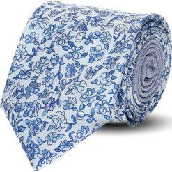 Krawat winman niebieski classic 209. Niebieskie krawaty męskie Recman. Za 129,00 zł.