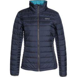 Colmar PRIMALOFT QUILTED Kurtka Outdoor blue/black. Niebieskie kurtki sportowe damskie marki Colmar, z materiału, outdoorowe, primaloft. W wyprzedaży za 377,55 zł.