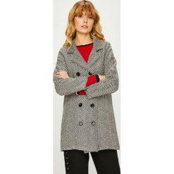 Trendyol - Płaszcz. Szare płaszcze damskie Trendyol, z bawełny, klasyczne. Za 189,90 zł.