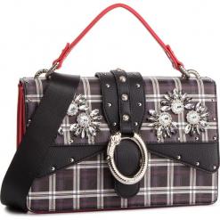 Torebka LIU JO - M Crossbody Darsen A68039 E0017 Check V9427. Czarne torebki klasyczne damskie marki Liu Jo, ze skóry ekologicznej, duże, bez dodatków. Za 739,00 zł.