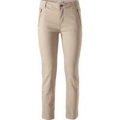 """Spodnie z wysokim stanem: Spodnie """"Marylin"""" w kolorze beżowym"""