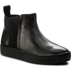Sztyblety VAGABOND - Zoe 4326-401-92 Black/Black. Czarne botki damskie na zamek Vagabond, z materiału. W wyprzedaży za 289,00 zł.
