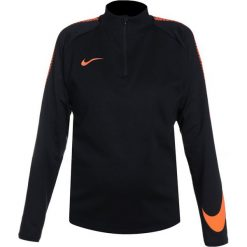 Nike Performance DRY SQAD DRILL Bluza black/cone. Czarne bluzy chłopięce Nike Performance, z materiału. Za 199,00 zł.