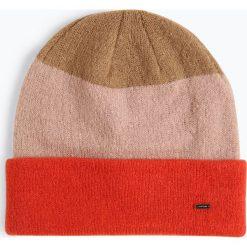 Opus - Czapka damska – Amelli Cap, pomarańczowy. Brązowe czapki damskie Opus, w paski. Za 89,95 zł.