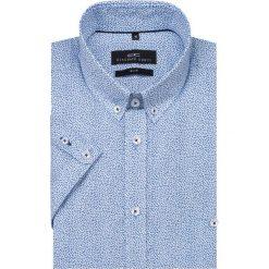Koszula SIMONE KKNS000003. Brązowe koszule męskie na spinki marki QUECHUA, m, z elastanu, z krótkim rękawem. Za 199,00 zł.