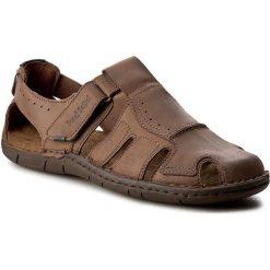 Sandały JOSEF SEIBEL - Paul 15 43215 768 310 Brasil. Brązowe sandały męskie skórzane marki Josef Seibel. W wyprzedaży za 249,00 zł.