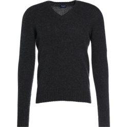 Drumohr Sweter antracite. Szare swetry klasyczne męskie Drumohr, m, z materiału. W wyprzedaży za 454,50 zł.