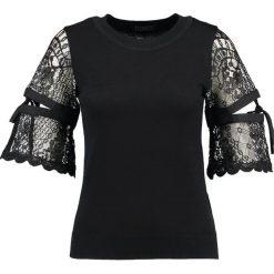 Swetry klasyczne damskie: Navy London JENNA Sweter black