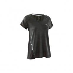Koszulka krótki rękaw RUN LIGHT damska. Czarne t-shirty damskie marki Mohito, l. W wyprzedaży za 29,99 zł.