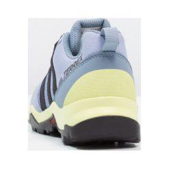 Adidas Performance TERREX AX2R CP Obuwie hikingowe chalk blue/core black/semi frozen yellow. Brązowe buty sportowe chłopięce marki adidas Performance, z gumy. Za 279,00 zł.