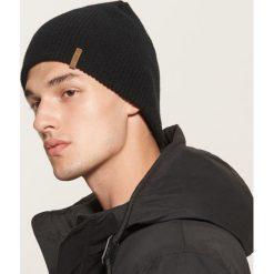 Czapka - Czarny. Czarne czapki zimowe męskie marki House. Za 25,99 zł.